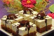 Kokos čokoladne kocke