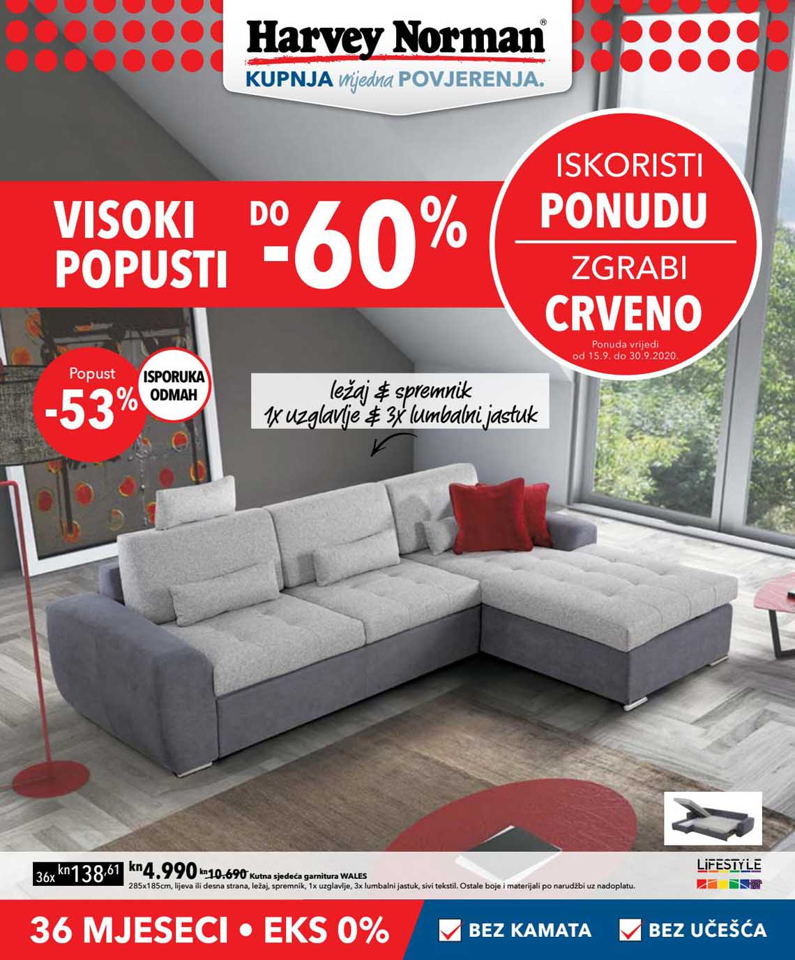 HARVEY NORMAN  - VISOKI POPUSTI - Akcija sniženja do 30.09.2020.