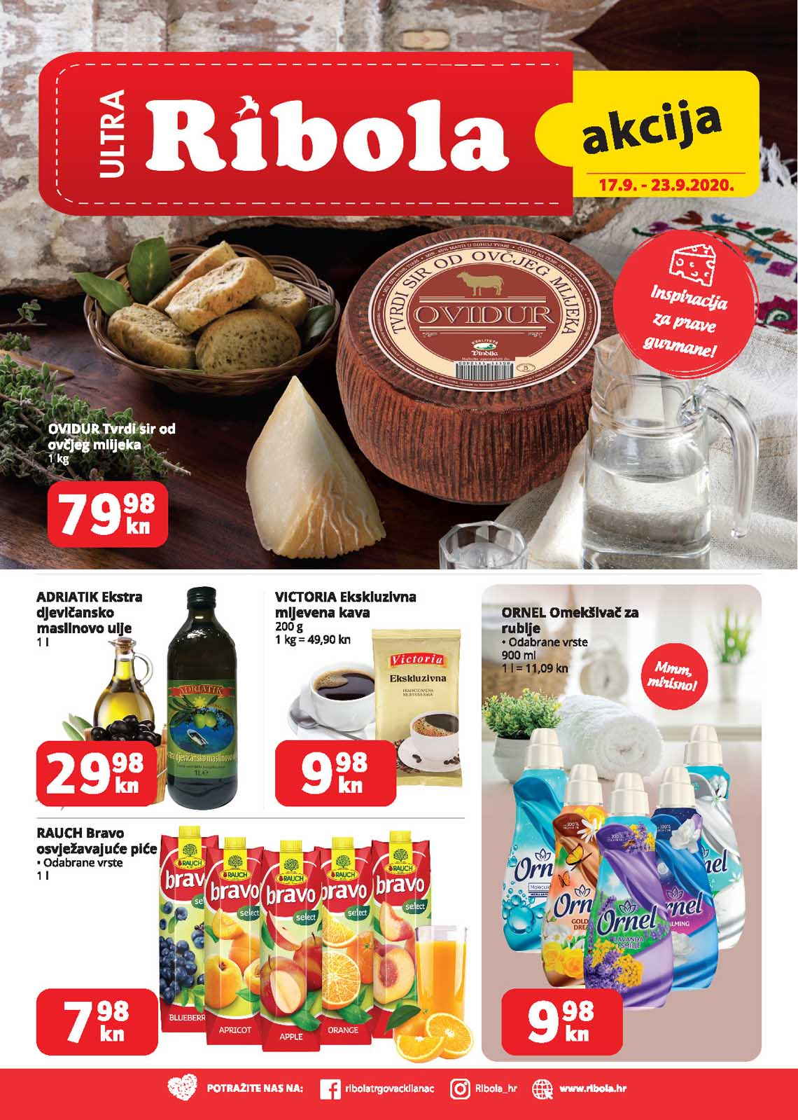 ULTRA GROS  - RIBOLA  KATALOG  - Akcija do 23.09.2020.