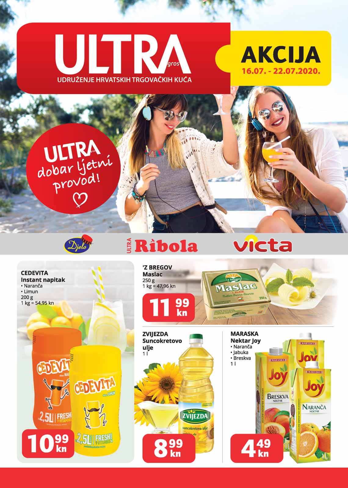 ULTRA GROS  - RIBOLA  KATALOG  - Akcija do 22.07.2020.
