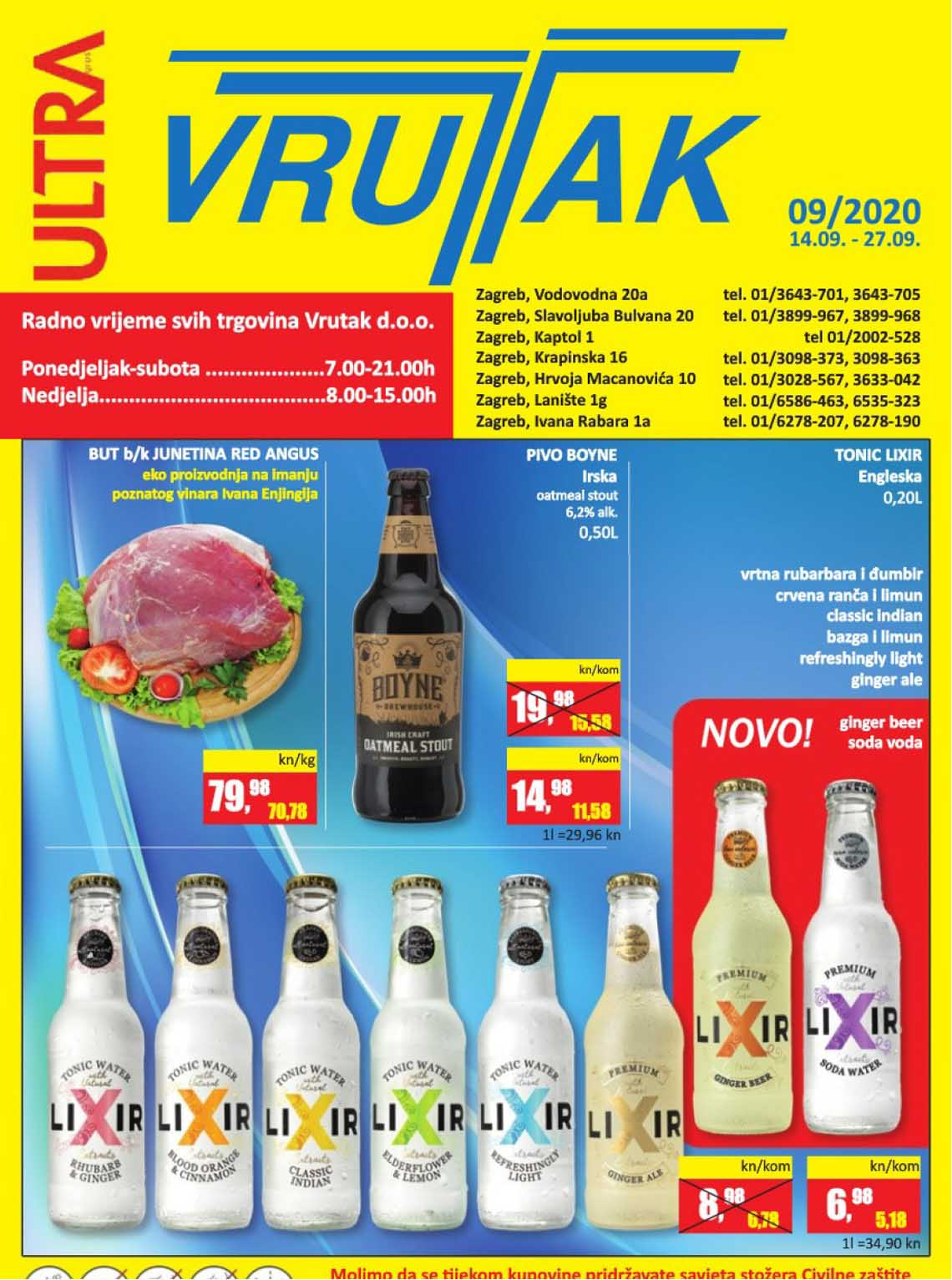 VRUTAK KATALOG - Akcija do 27.09.2020.