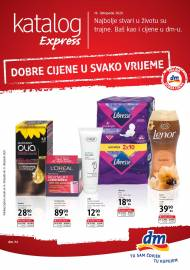 dm EXPRESS KATALOG - Akcija do 31.10.2020.