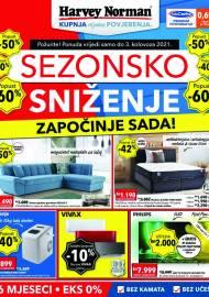 HARVEY NORMAN - KATALOG - SEZONSKO SNIŽENJE - AKCIJA DO 03.08.2021
