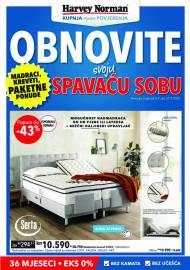 HARVEY NORMAN - OBNOVITE SVOJU SPAVAĆU SOBU - AKCIJA DO 27.07.2021