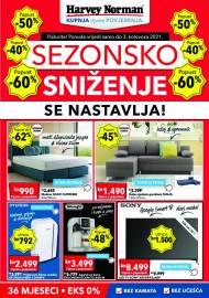 HARVEY NORMAN - KATALOG - SEZONSKO SNIŽENJE - AKCIJA DO 03.08.2021 (2)