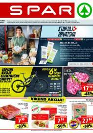 SPAR KATALOG - Ponuda prehrambenih namirnica, kozmetike, sredstava za čišćenje vrijedi do 26.10.2020. Ponuda kućanstva, tekstila, tehnike vrijedi do 02.11.2021