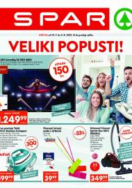 SPAR KATALOG - VELIKI POPUSTI! AKCIJA DO 03.08.2021
