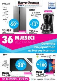 HARVEY NORMAN  - Opremite svoj apartman - ponuda tehnike - ponuda tehnike - AKCIJA DO 16.03.2021