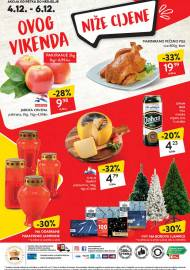 KONZUM VIKEND - Akcija do 06.12.2020.