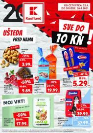 KAUFLAND KATALOG - UŠTEDA PRED VAMA! - Akcija do 28.04.2021.