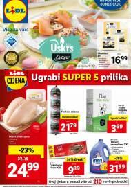 LIDL KATALOG - UGRABI SUPER 5 PRILIKA - Sniženje do 07.03.2021. godine