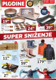 PLODINE  KATALOG -  SUPER SNIŽENJE -  Akcija sniženja do 09.12.2020.