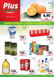 PLUS MARKET - SUPER PONUDA U VAŠEM SUSJEDSTVU -Akcija do 06.03.2021.