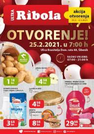 ULTRA - RIBOLA - ŠIBENIK OTVARANJE -Akcija do 04.03.2021.