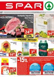 SPAR KATALOG - Ponuda prehrambenih namirnica, kozmetike, sredstava za čišćenje vrijedi 02.06.2020. Ponuda kućanstva, tekstila, tehnike vrijedi do 09.06.2020