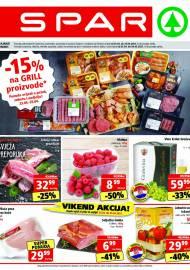 SPAR KATALOG - Ponuda prehrambenih namirnica, kozmetike, sredstava za čišćenje vrijedi do 27.04.2020. Ponuda kućanstva, tekstila, tehnike vrijedi do 04.05.2021
