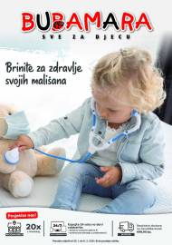 BRINITE ZA ZDRAVLJE SVOJIH MALIŠANA - BUBAMARA KATALOG / AKCIJA SNIŽENJA DO 08.02.2021
