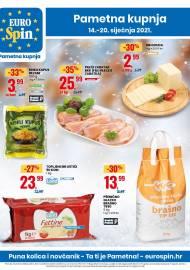 EUROSPIN KATALOG - SUPER SNIŽENJE -  Akcija sniženja do 20.01.2021.
