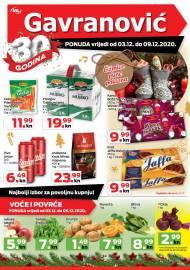 GAVRANOVIĆ KATALOG -Akcija sniženja do 09.12.2020.