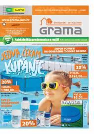 GRAMA - GRAĐEVINSKI I VRTNI CENTAR - KATALOG -Akcija sniženja do 01.09.2020.