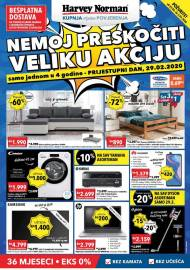 HARVEY NORMAN - Akcija sniženja do 02.03.2020.