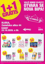 BIPA LETAK - RIJEKA NOVA BIPA -Akcija do 01.11.2020.