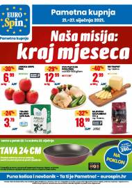 EUROSPIN KATALOG - SUPER SNIŽENJE -  Akcija sniženja do 27.01.2021.