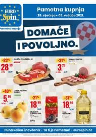 EUROSPIN KATALOG - SUPER SNIŽENJE -  Akcija sniženja do 03.02.2021.