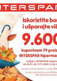 INTERSPAR BONOVI - Akcija do 17.11.2020.