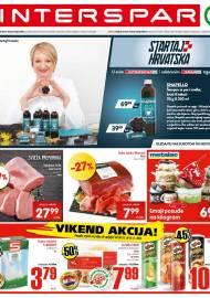 INTERSPAR KATALOG - Ponuda prehrambenih namirnica, kozmetike, sredstava za čišćenje vrijedi do 03.11.2020. Ponuda kućanstva, tekstila, tehnike vrijedi do 10.11.2020