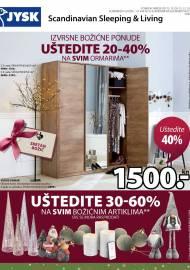 Jysk ponuda - JYSK Katalog - Super akcija od 12.12. DO 25.12.2019.