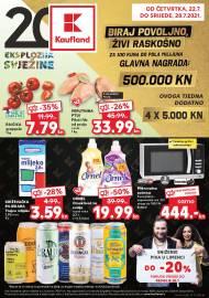 KAUFLAND KATALOG - BIRAJ POVOLJNO - ŽIVI RASKOŠNO! - Akcija do 28.07.2021.