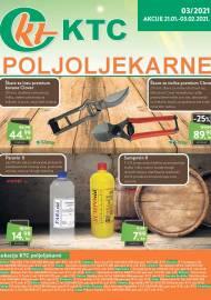 KTC KATALOG POLJOLJEKARNE - Akcija sniženja do 03.02.2021. Godine