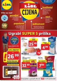 LIDL KATALOG - AKCIJA SNIŽENJA - UGRABI SUPER 5 PRILIKA - Sniženje do 01.11.2020. godine