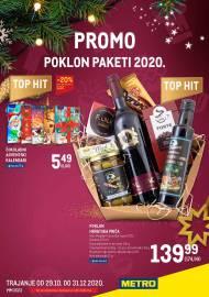 METRO AKCIJA -PROMO - POKLON PAKETI  - Akcija do 31.12.2020.