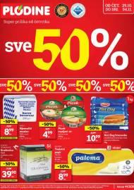 PLODINE  KATALOG -  SVE 50% -  Akcija sniženja do 04.11.2020.