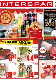 INTERSPAR KATALOG - Ponuda prehrambenih namirnica, kozmetike, sredstava za čišćenje vrijedi do 14.07.2020. Ponuda kućanstva, tekstila, tehnike vrijedi do 21.07.2020