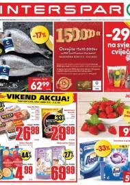 INTERSPAR KATALOG - Ponuda prehrambenih namirnica, kozmetike, sredstava za čišćenje vrijedi 03.03.2020. Ponuda kućanstva, tekstila, tehnike vrijedi do 10.03.2020