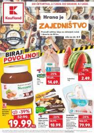 KAUFLAND KATALOG - BIRAJ POVOLJNO! - Akcija do 08.07.2020.
