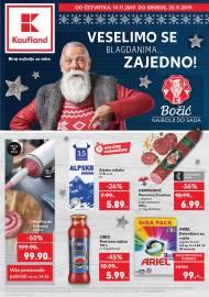 KAUFLAND KATALOG - VESELIMO SE BLAGDANIMA ZAJEDNO! - Akcija do 20.11.2019.