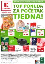 KAUFLAND KATALOG - TOP PONUDA ZA POČETAK TJEDNA! Akcija do 15.04.2020.