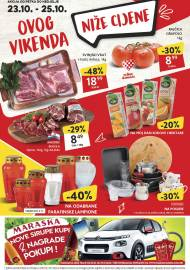 KONZUM VIKEND - Akcija do 25.10.2020.