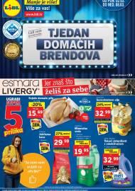 LIDL KATALOG - AKCIJA SNIŽENJA - TJEDAN DOMAĆIH BRENDOVA - Sniženje do 08.03.2020. godine