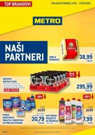 METRO AKCIJA - TOP BRENDOVI Akcija do 27.05.2020.