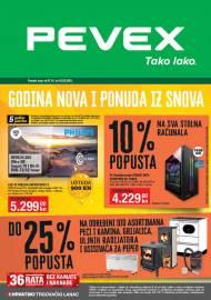 PEVEX KATALOG - TAKO LAKO - GODINA NOVA I PONUDA IZ SNOVA! -Akcija do 02.02.2021.