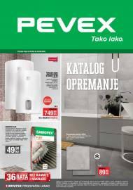 PEVEX KATALOG - OPREMANJE -Akcija do 29.09.2020.