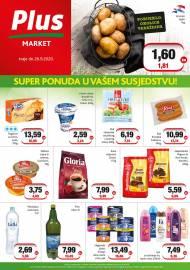 PLUS MARKET - SUPER PONUDA U VAŠEM SUSJEDSTVU -Akcija do 26.09.2020.