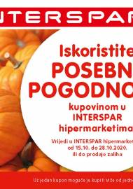 INTERSPAR POSEBNE POGODNOSTI KATALOG - Akcija do 28.10.2020.