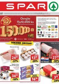 SPAR KATALOG - Ponuda prehrambenih namirnica, kozmetike, sredstava za čišćenje vrijedi 18.02.2020. Ponuda kućanstva, tekstila, tehnike vrijedi do 25.02.2020