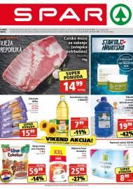 SPAR KATALOG - Ponuda prehrambenih namirnica, kozmetike, sredstava za čišćenje vrijedi do 19.01.2021. Ponuda kućanstva, tekstila, tehnike vrijedi do 26.01.2021